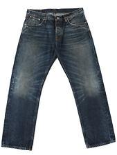 Nudie Men's Selvage-Jeans Regular Fit Straight Alf Edgar Replica Rrp