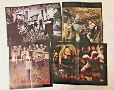 RARE Metal Maniacs Mag 4 Centerfold Poster Lot Amon Amarth Finntroll TYR* Pagan