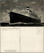 Dollar SteamShip Line, S.S. president Grant, nuova