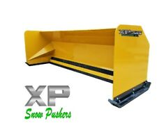 10 Xp36 Cat Yellow Snow Pusher Jrb 416 Mount Backhoe Loader Local Pickup