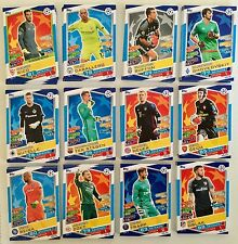 TOPPS MATCH ATTAX Champions League 16/17 carte base _ 10 carte scegliere (elenco)
