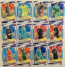 Topps Match Attax Champions League Basiskarten_10 Karten aussuchen (Liste)