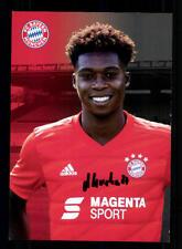 Derrick Köhn Autogrammkarte Bayern München Amateure 2019-20 Original Signiert