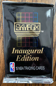 1990-91 Skybox NBA Basketball Cards One - 1 Unopened Pack Free Shipping Jordan ?