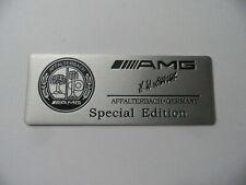 "AMG ""Special Edition"" echtes Alu 3D Aufkleber Sticker, Emblem, Plakette, badge,"