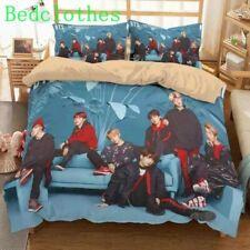 BTS Korean Star Bed Sets Duvet cover Pillowcase Twin Full Queen King 3 Pics Hot