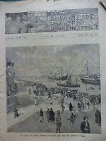 1896 GUERRA ABISSINA AMBA ALAGI ZECCA ROMA TALLERI PONTE D'ASMARA PORTO SAID