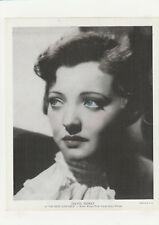 """Sylvia Sidney """"You Only Live Once""""  Publicity Photo 1930's"""