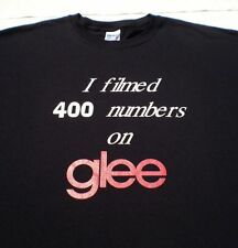 GLEE film crew 400 numbers XL T-SHIRT