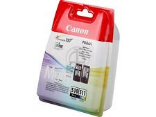 ORIGINAL Multipack OVP black color CANON PG510 +CL511 MX-320 MP-230 MP490 MX330