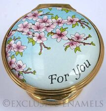 Halcyon Days Enamels Mother's Day 2012 New In Box Enamel Box