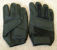 HWI Carrier Aviation Black Leather Gloves Style CAG 100 sz L