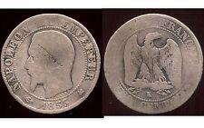 5 centimes NAPOLEON III 1855 K  ancre  ( 1 )