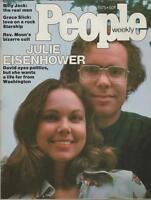 People Weekly Magazine October 20 1975 David & Julie Eisenhower Grace Slick
