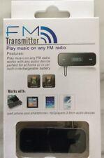 3.5mm Wireless Car FM Transmitter Handsfree Radio for iPhone 5 6s Samsung Galaxy