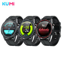 Black Xiaomi Smart Watch Heart Rate Tracker Blood Oxygen Monitor Kumi Magic GT3