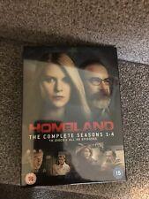 Homeland Seasons 1-4 BN New And Sealed TV Box Set Series DVD