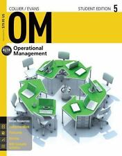 OM5 Operations Management by  David A. Collier & James R. Evans