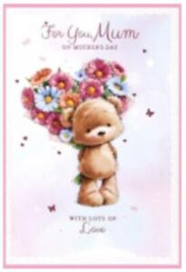 Mother's Day Card ~ Flowery Heart  by Simon Elvin   Free P&P