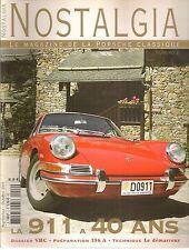 NOSTALGIA 2 PORSCHE 911 2.0 1964 356 C 1600 SC CABRIOLET 911 2.4 S TARGA 356 A