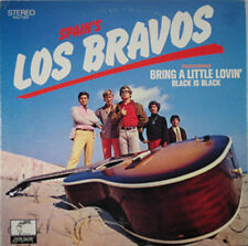LOS BRAVOS  Bring A Little Lovin' BLACK IS BLACK LP RARE COVER!!!
