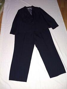 Kasper Pants Suit 22W blazer 20W pantd