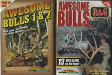 Elk Bull Hunting Awesome Bulls 1 2 3 4 Bow and Rifle 4 Films on 2 Dvds New