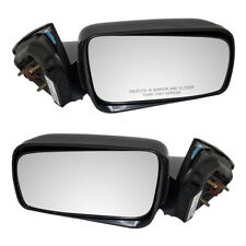 Pair Side Power Door Mirrors Set fits 2005-2009 Ford Mustang GT Shelby GT500