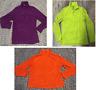 Tangerine Women's 1/4 Zip Up Athletic Jacket Pullover Active Fleece X-LARGE XL