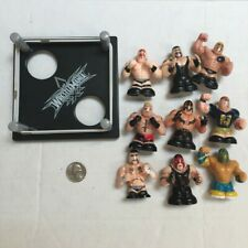 F27 loose figure lot WWE Thumbpers thumb wrestlers RING Kane Undertaker Lesnar