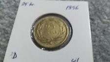 TÜRKİYE   1956    25  Kuruş      unc.