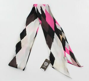 """New Vince Camuto Tribal Geo 4"""" x 80"""" Scarf nwt #VC1235"""