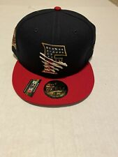 Fresno Grizzlies New Era 4th Of July Stars and Stripes Hat Size: 7 7/8