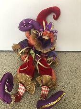 Jester Doll Mardi Gras Colored