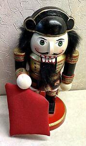 """Nutcracker Christmas  Matador Bull Fighter 7"""" Wood"""