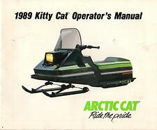 1989 ARCTIC CAT SNOWMOBILE KITTY CAT OPERATOR MANUAL (223)