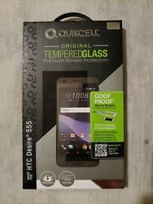 Quikcell Tempered Glass Screen Protector HTC Desire 555