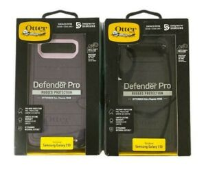 Otterbox Defender Pro Case + Holster for Samsung Galaxy S10 Only Black Or Purple