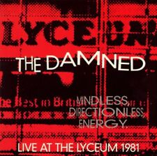 The Damned - Mindless Directionless Energy Live At The Lyceum 1981 New Cassette