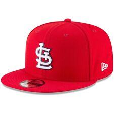 "St. Louis Cardinals MLB New Era ""Basic"" 9FIFTY Snapback Hat - Red"