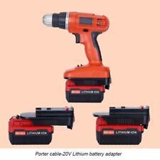 20V Battery Adapter Converter for Black & Decker 18V NiCad & NiMh Battery Tools