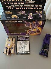 Transformers G1  Lot of 2  Astrotrain & Blitzwing