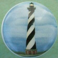 Ceramic knob Light House Lighthouse Cape Hatteras NC #4