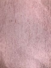 DUSTY PINK SOLID CHENILLE VELVET UPHOLSTERY DRAPERY FABRIC (54 in.) Sold BTY