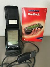 Collectors Item Palm Iii Organizer excellent shape with Book, Data Dock, Cables