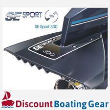 SE SPORT SE300 Hydrofoil BLACK 40-350HP Outboard Sterndrive Marine Boat Foil