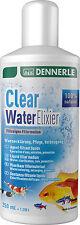 Dennerle Filtro de agua clara Elixir Líquido eliminar olores y toxinas 250ml