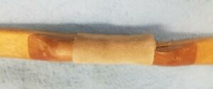 "VINTAGE LONGBOW, NO Brand, 68"" long, 35lb, 28"" draw, no bowstring"