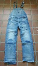 Levis Vintage Clothing LVC Distressed Overalls Dungarees Bib Brace W30 L29 NEW