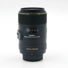 Sigma macro 105mm 1:2,8 ex DG OS HSM-lente para Nikon-usado